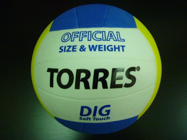 Мяч волейбольный TORRES Dig