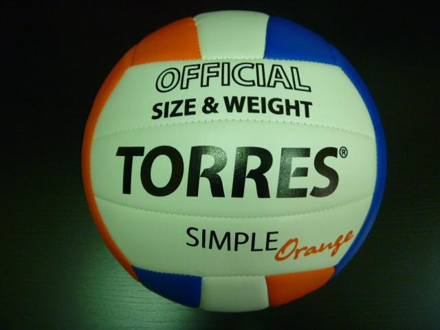 Мяч волейбольный TORRES Orange
