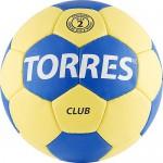 Мяч гандбольный TORRES Club, размер 2
